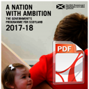 A Nation with Ambition, Programme for Government 2017-18