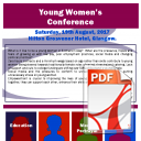 Young Women's Conference Report