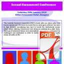 Sexual Harassment Conference Report