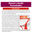 Presentation: Thyroid