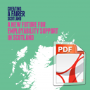 Creating a Fairer Scotland: A New Future for Employability in Scotland – March 2016 -