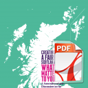Creating a Fairer Scotland - What Matters to You: A Summary of the Discussion So Far – March 2016 -